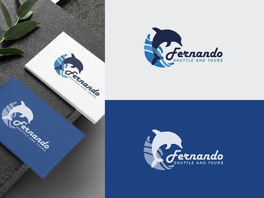 travel brand logo design